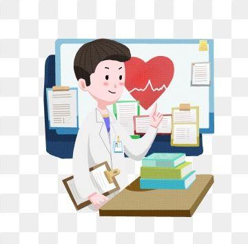 Cartoon Medical Male Doctor Male Doctor Doctor Medical Medical