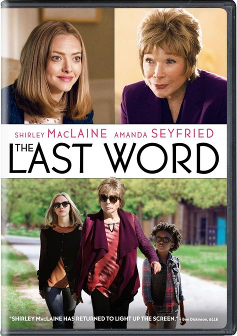 Rent The Last Word starring Shirley MacLaine and Amanda Seyfried on DVD and Blu-ray. Get unlimited DVD Movies & TV Shows delivered to your door with no late fees, ever. One month free trial!