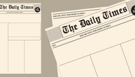 Old Newspaper Template Newspaper Template Newspaper Article