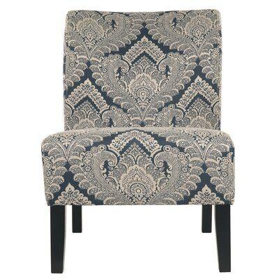 Astoria Grand Chandler Slipper Chair Accent Chairs Chair