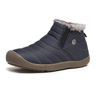 JINDENG Snow Boots Women Men Anti-Slip