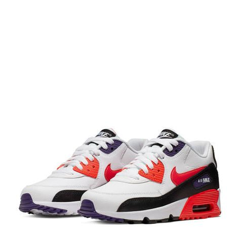 nike air max rood wit zwart