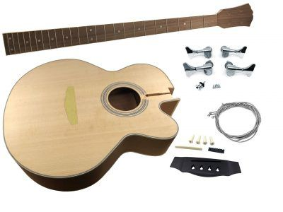 Solo Acoustic Diy Guitar Kit Completed Body Solo Music Gear In 2020 Guitar Kits Guitar Acoustic Bass Guitar