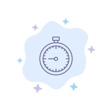 Stopwatch Clock Fast Quick Time Timer Watch Blue Icon On A Clock Clipart Clock Icons Time Icons Png And Vector With Transparent Background For Free Download Clock Icon Time Timer Stopwatch