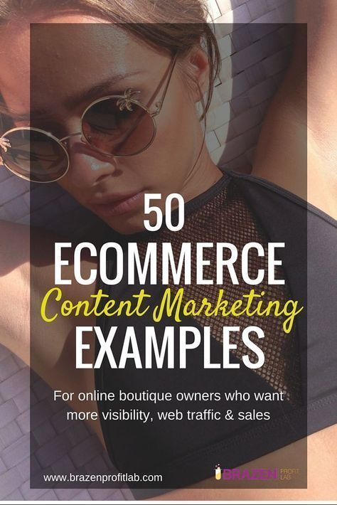 50 {profitable} Ecommerce Content Marketing Examples