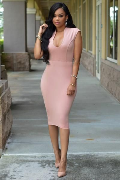 f100760c065f Rosa Kleid kombinieren: Welche Schuhe passen zu rosa Kleid | clothes ...