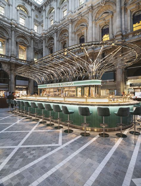 How Fortnum & Mason's new space in the City of London was designed