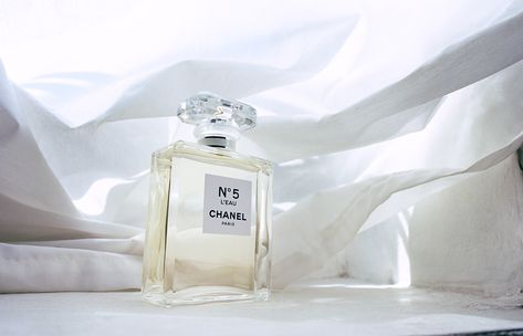 Chanel fragrance still life by Yuki Saito