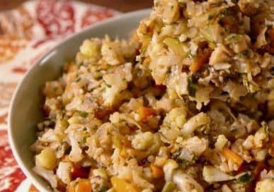 Keto Thanksgiving Stuffing Recipe Food Recipes Keto Stuffing