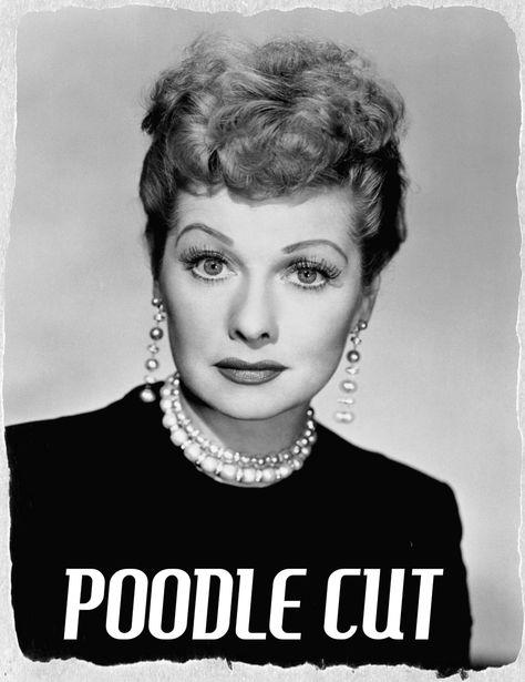 Ladies Poodle Cut 1950s