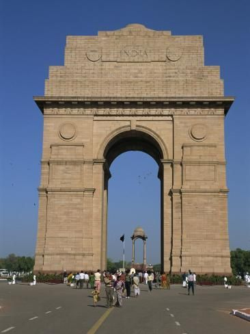 India Gate New Delhi India Photographic Print Poole David Art Com In 2021 India Gate India Tour National Parks