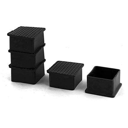 Square Chair Leg Covers In 2020 Chair Leg Covers Chair Legs Furniture Feet