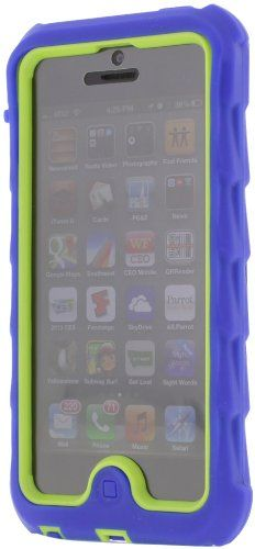half off 5bbfe 3b7bc Gumdrop Blue and lime bumper case for iphone 5 | Child Proof iphone ...