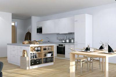 Wyspa W Kuchni Maximum Funkcjonalnosci Apartment Kitchen Island Studio Apartment Kitchen Kitchen With Island Interior