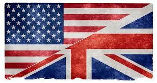 British Flag Vs American Flag British Vs American English Language British Phrases