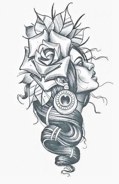 17 Trendy Tattoo Ideas Thigh Piece Drawings Tattoo Arm Tattoo