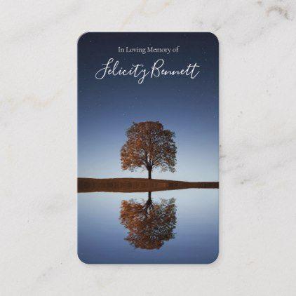 Prayer Cards Beautiful Reflection Deluxe Zazzle Com