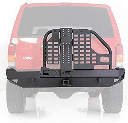 Amazon Com Smittybilt 76851 Xrc Rear Bumper And Tire Carrier For