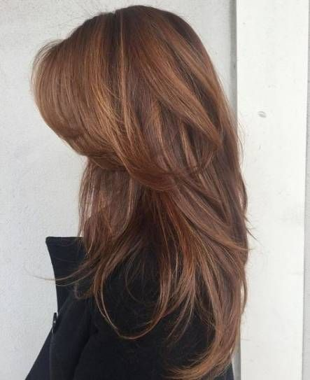 New Hairstyles Long Layers Bangs Colour Ideas Hairstyles Long