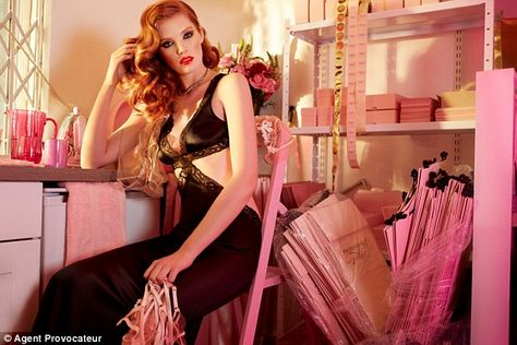90fa7bf3e4 Sophia Loren and Cindy Crawford inspire Agent Provocateur s new range