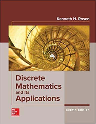 Rosen S Discrete Mathematics And Its Applications 8th Edition Ebook Discrete Mathematics Mathematics Math Textbook
