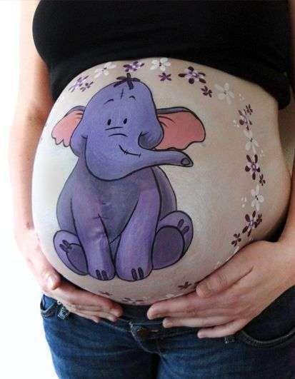 Bodypaint Embarazadas Dibujos Para Embarazadas Dibujo Barriga Embarazada