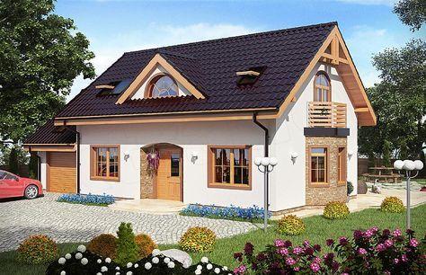 Projekt Domu Atka Model House Plan Modern House Facades Facade House