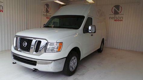 2013 Nissan NVCargo 2500HDS 2500 HD S 3dr Cargo Van W/High Roof (V8)  Full Size 3 Doors White For Sale In Broken Arrow, ...