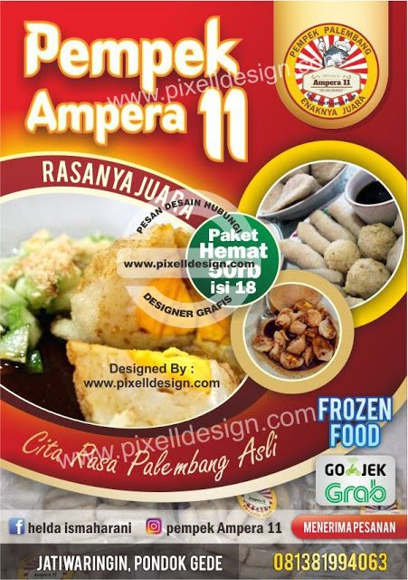 Luar Biasa Poster Iklan Produk Makanan Koleksi Poster