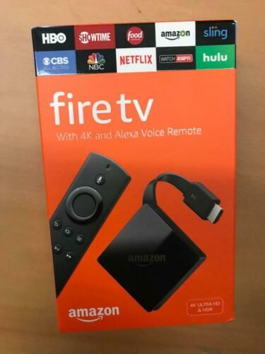 Details about NEW Amazon Fire TV with 4K Ultra HD and Alexa