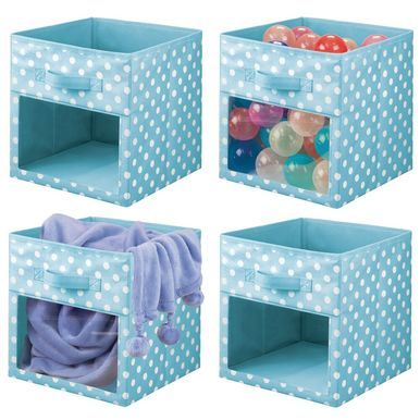 Kids Room Fabric Cube Storage Bin Closet Organizer 10 5 X 10 5 X 11 Cube Storage Fabric Storage Boxes Closet Organization