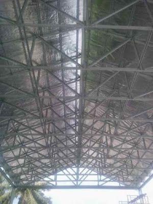 jasa pemasangan baja ringan di jogja dak keraton yogyakarta ranka atap