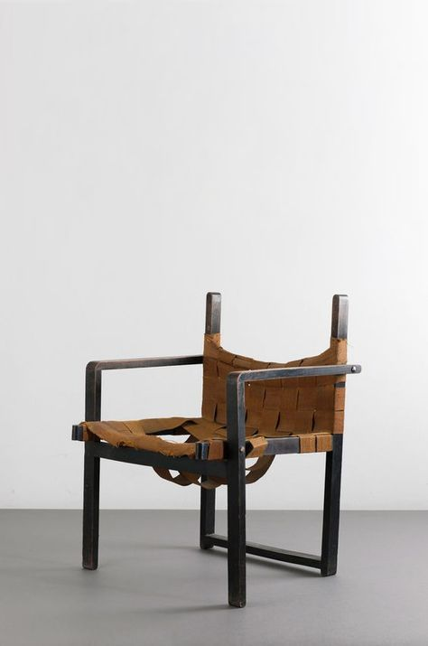 'Bauhaus' crate chair, 1920/30s in 2019 Chair, Leather
