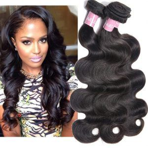 Darlena 8a Brazilian Virgin Hair Body Wave 3 Bundles 10 12 14 Inch Virgin Human Hair Bundles Brazilian Hair Weave Total 300 Grams Natural Color Peruvian Hair Body Wave Brazilian Virgin