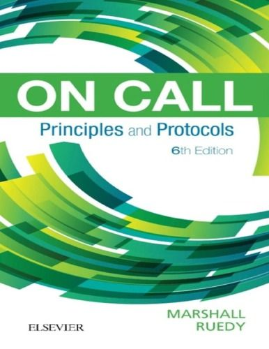 On Call Principles And Protocols 6th Edition Isbn 13 978