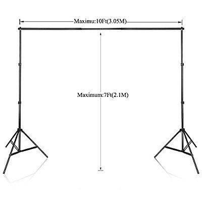 Amazon Com Slow Dolphin Photo Video Studio 10ft Adjustable Backdrop Support System Light Stands With Background Holder Dolphin Photos Video Studio Backdrops