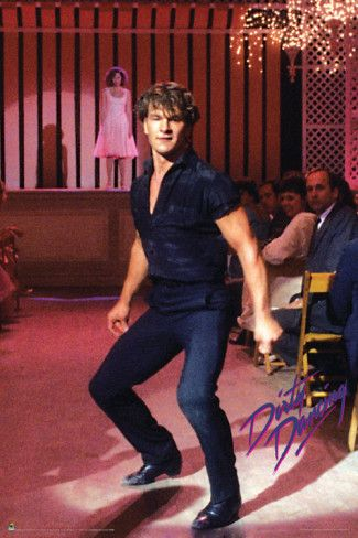 Patrick Swayze  (I pinned this photo of him from dirty dancing again because, for some reason, I was unable to fix the link without doing so.)  @Clarinda Kotowski  - Here's what I believe to be a permalink if you want to edit your pin!:  http://www.allposters.com/-sp/Dirty-Dancing-Posters_i6202556_.htm