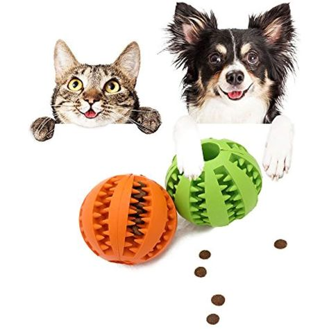 Pet Toy Ball Cat And Dog Teeth Cleaning Chewing Playing Fun