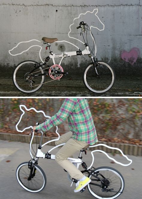 lmao i want this horse bike! just-my-style