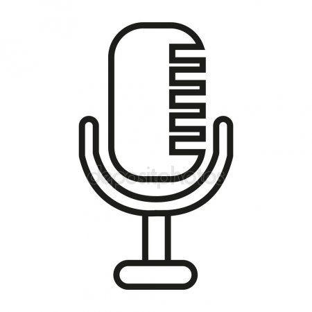 Dibujo Microfono Para Colorear Microfonos Microfono Dibujo Colores