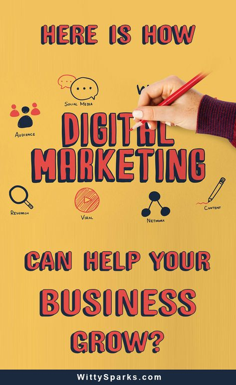 How to grow a business using the right digital marketing?  Marketing tip: Six ways digital marketing can help your business grow and reach its full potential.  #marketing #socialmedia #contentmarketing #business