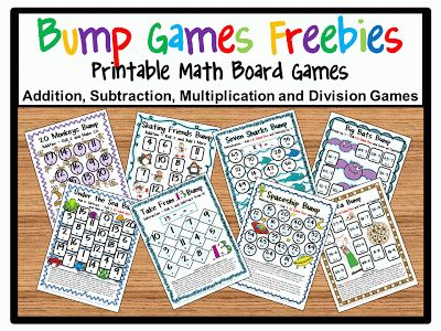 How to Use Games to Reach Your Students | Printable math games, Math ...