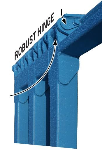 Triple Push Tubes Grease Zerks And Removable Hinge Pin In 2020 Weather Seal Hinge Pin Door Manufacturer