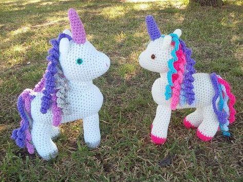 Amigurumi Unicornio Tutorial : Tutorial unicornio pequeño amigurumi youtube crochet
