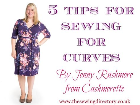 Sewing for a curvy figure - top tips from Cashmerette
