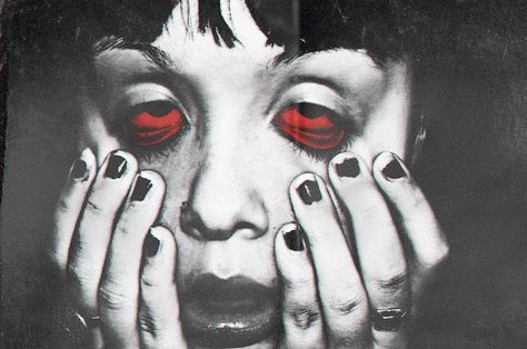Stream Ojos Rojos - S Crew by S Crew Records from desktop or your mobile device Psychedelic Art, Arte Punk, Arte Obscura, Psy Art, Art Graphique, Red Aesthetic, Horror Art, Surreal Art, A Level Art
