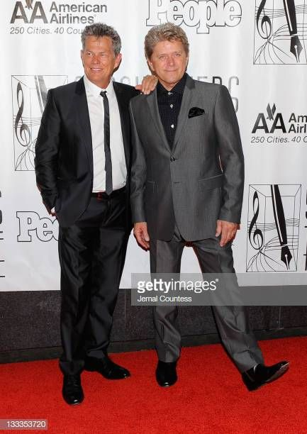 David Foster And Peter Cetera Attend The 41st Annual Songwriters Hall Of Fame Ceremony At The New York Marriott Songwriting Night Of The Proms Chicago The Band
