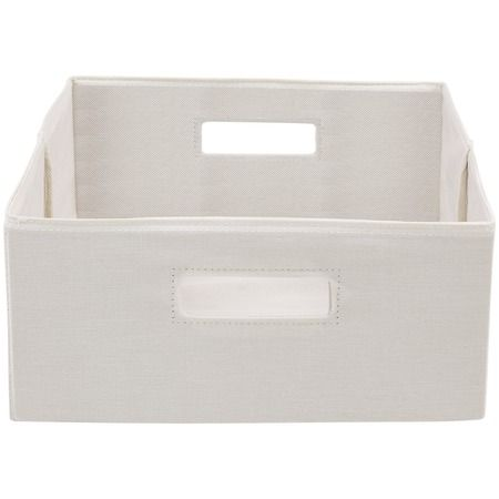 2d01fdae94fd544553175b48f018154f - Better Homes And Gardens Fabric Storage Bin Gray