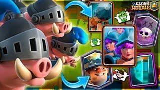 Porcos Reais Como Usar Em Combos Mortais No Clash Royale Bruno Clash Clash Royale Deck Clash Royale Mario Characters