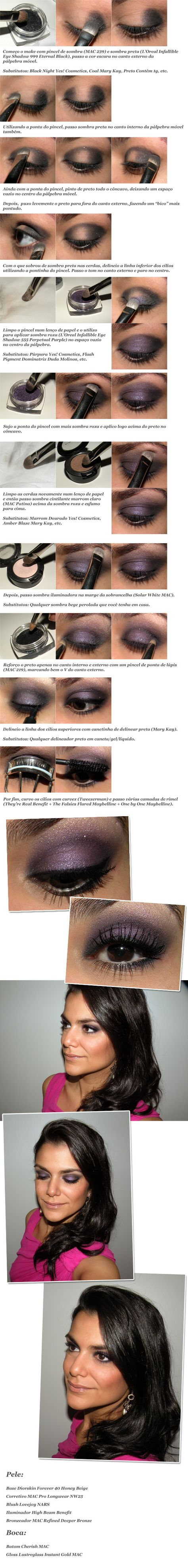 this would be great for my hazel/green eyes! love this look...